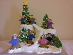 sugar cookie ski scene