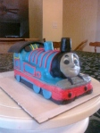 Thomas the Tank engine Cake (2)